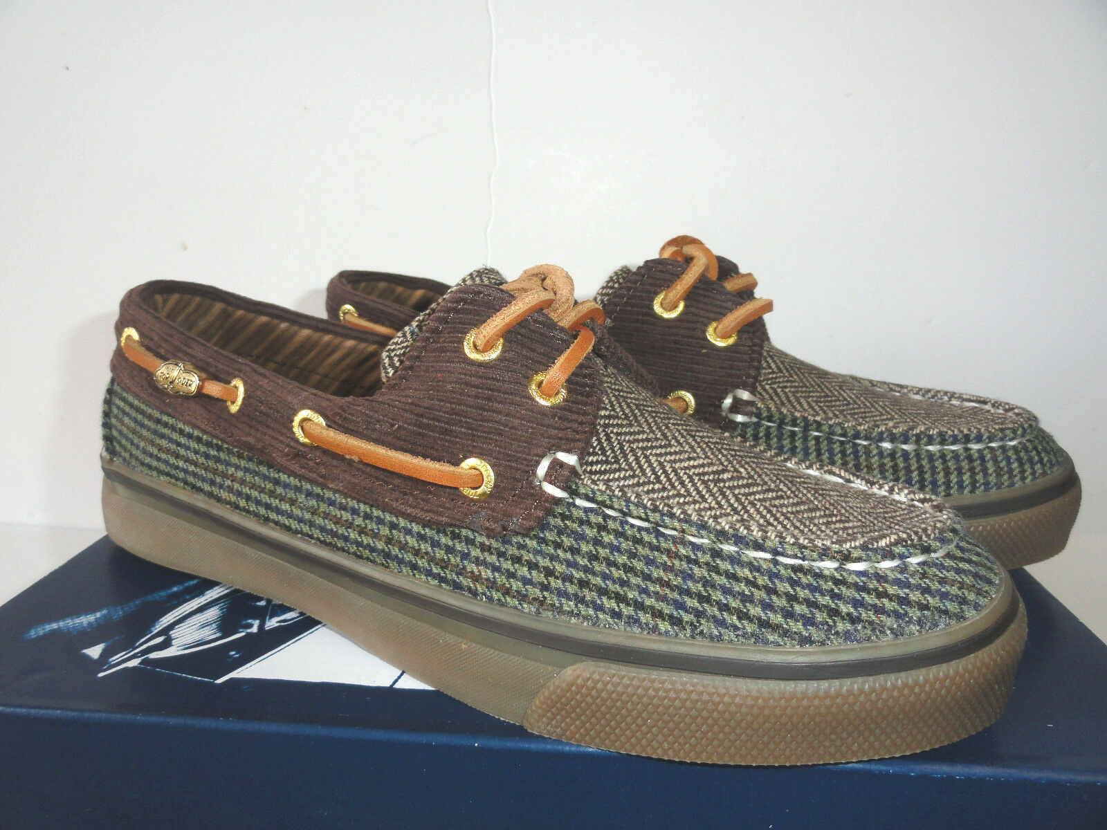Women's Sperry Top-Sider Bahama Boat shoes Brown Hound  Cord