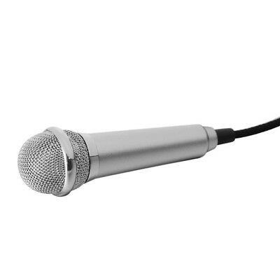 Portable 3.5mm Wired Mini Cell Phone Microphone Stereo Mic for Chatting/Sing Hot