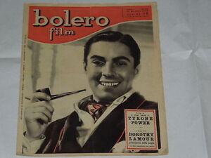BOLERO FILM DEL 21 MARZO 1948-TYRONE POWER-MARGA JOYCE, IRENE D'ASFREA, IRMA SAI - Italia - BOLERO FILM DEL 21 MARZO 1948-TYRONE POWER-MARGA JOYCE, IRENE D'ASFREA, IRMA SAI - Italia