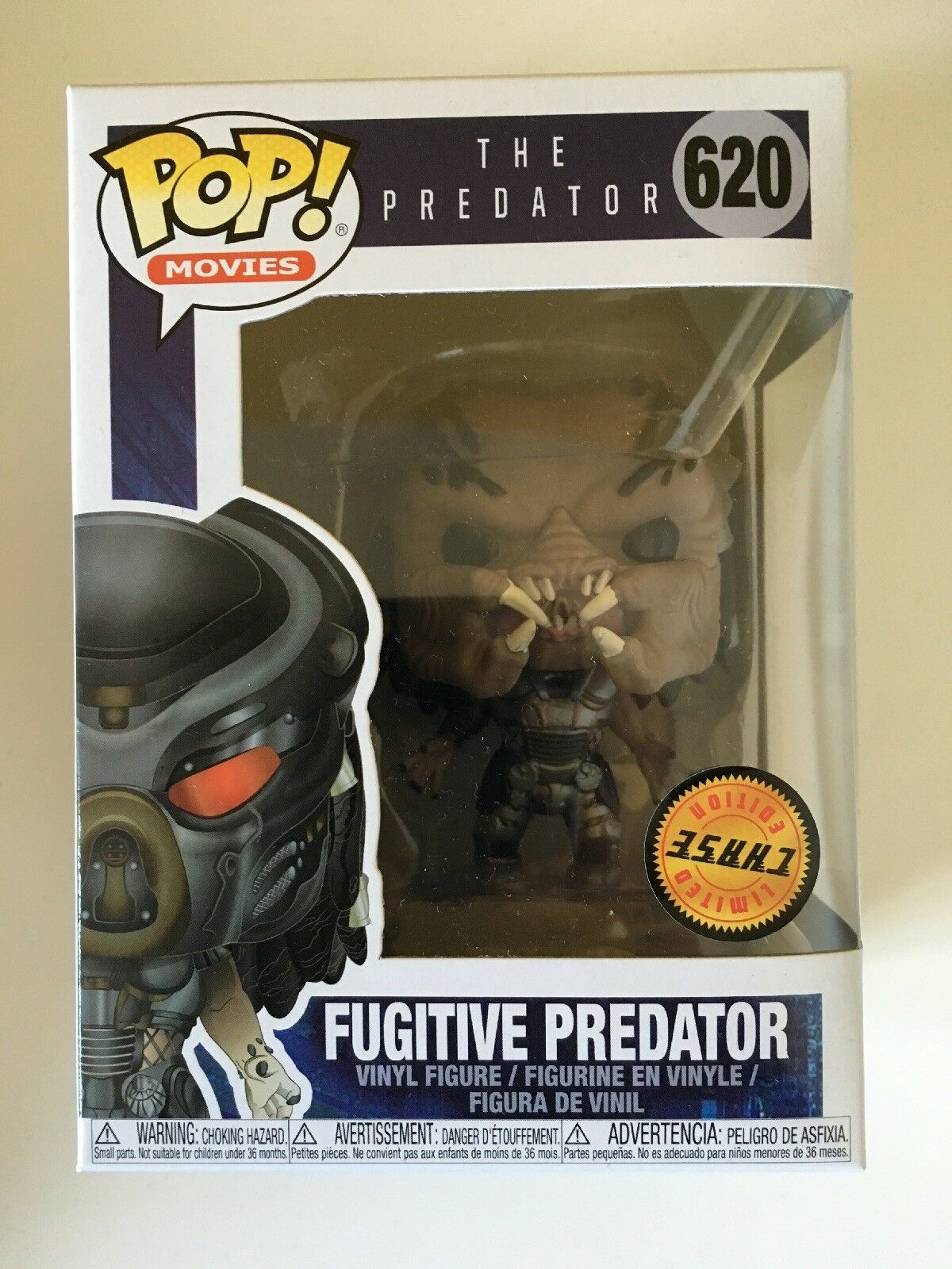 FUNKO POP Fugitive Protator CHASE Limited Edition Very Rare