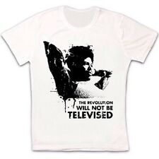 The Revolution Will Not Be Televised T Shirt Gil Scott-Heron Music Jazz Soul 328