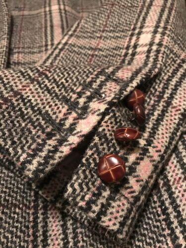 de en Boleto puños hecho Aristocrat tamaño Xlarge lana abrigo bolsillo Italia cirujano SwpqdFvw