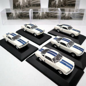 5PCS-OF-Altaya-1-43-Ford-Mustang-Shelby-GT-350H-1965-Diecast-Car-Model-IXO-Toys