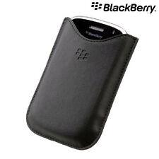 100% Genuine BlackBerry Bold 9000 Leather Pocket Pouch Case HDW-16000-001 (OEM)