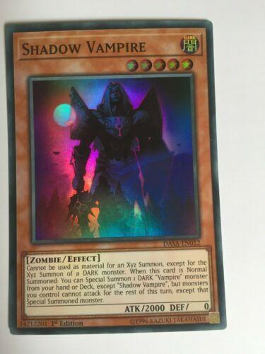 DASA-EN012 Shadow Vampire Super Rare 1st Edition Yu-Gi-Oh