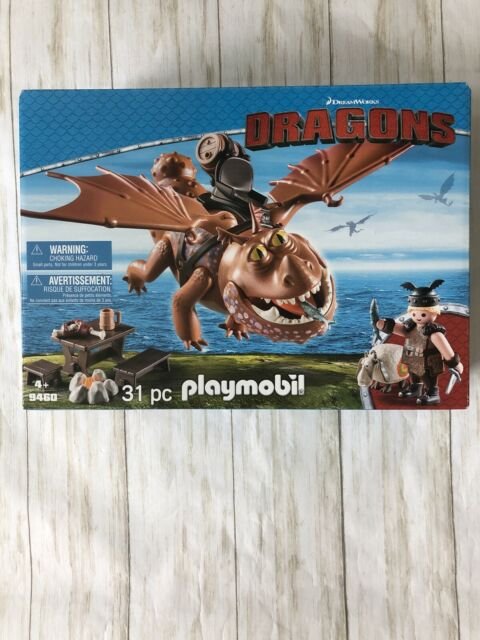 Playmobil Dragons Fishlegs And Meatlug Building Set 9460 NEW Toys Kids