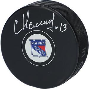 Sergei-Nemchinov-New-York-Rangers-Autographed-Hockey-Puck