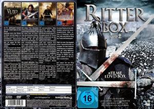 Ritter Box Vol 2 - 4 Filme  2 DVD Box, Vlad Der Pfähler, Westender,Alexander der