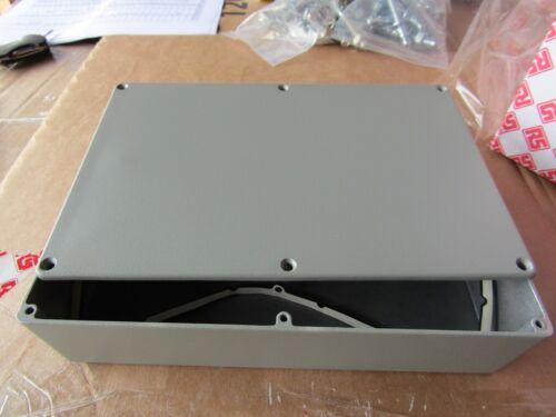 Deltron 481 Aluminium Diecast Enclosure IP68 222.3 x 146 x 55.9mm H9M 7191320