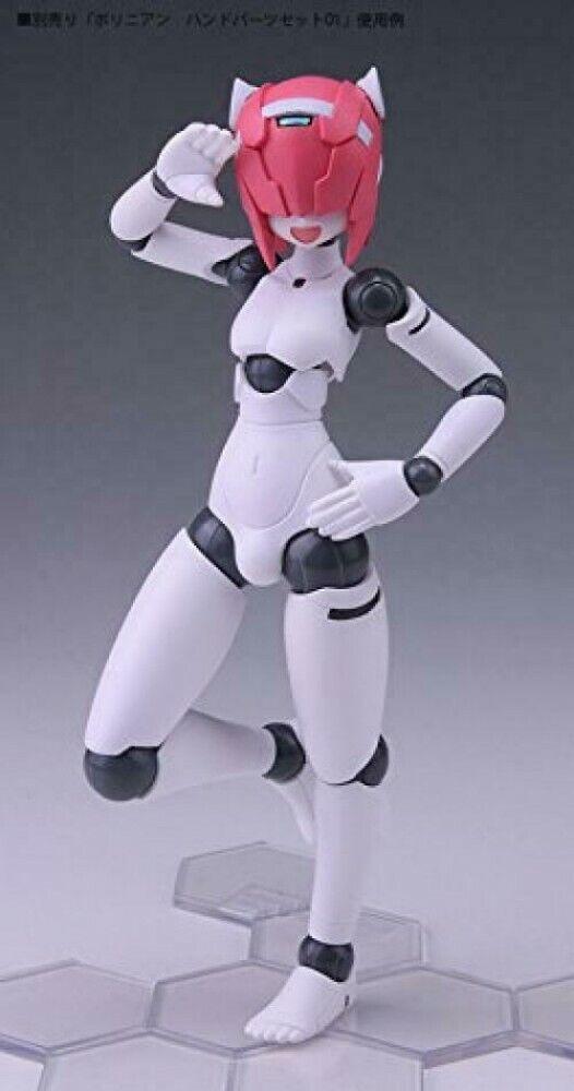 Polynian MMM Shamrock Update Ver PVC/&ABS Figure 130mm DAIBADI Japan