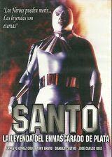 SANTO(LA LEYENDA ENMASCARADO DE PLATA) NEW NTSC DVD 1993