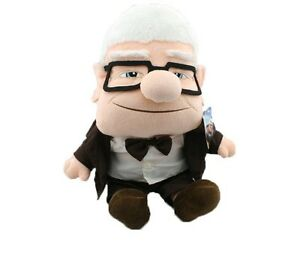 pixar movie up carl fredricksen grandpa carl plush toy russell soft