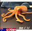 80CM-Big-Funny-Octopus-Squid-Stuffed-Animal-Soft-Plush-Toys-Doll-Pillow-Gift-AU thumbnail 1