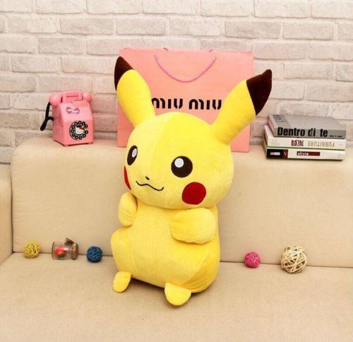 New 12/'/' 28CM  Anime Pokemon Pikachu Plush Plush Toys Doll Xmas Children Gift .