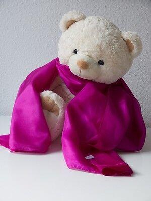 Großer Seidenschal 100/% Seide rosa Seidentuch 195 x 105 cm Pongé 05 Seidentücher
