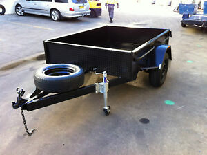 BRAND-NEW-SINGLE-AXLE-Box-Trailer-7X5FT-H-DUTY-DEEP-SIDED-7X4-8X5-ALSO-AVAIL