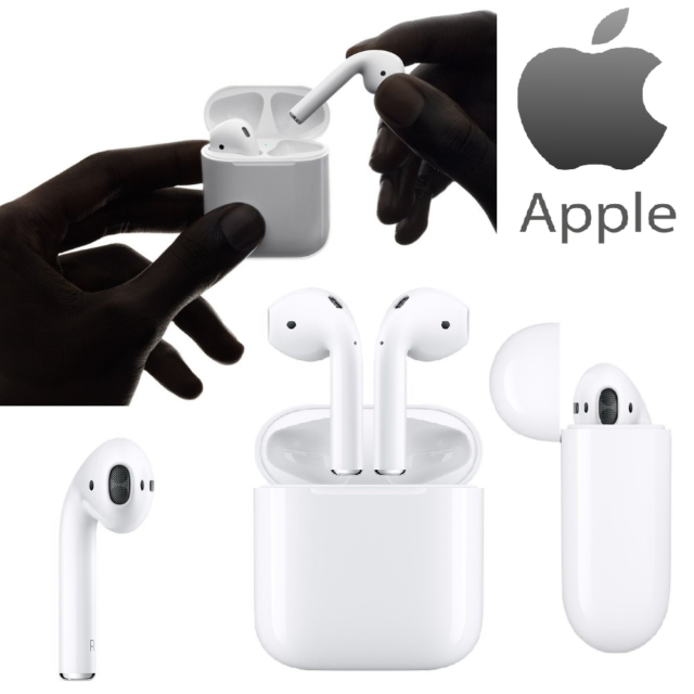 Auricolare Cuffie Apple AirPods Wireless Bluetooth Stereo MMEF2ZM/A