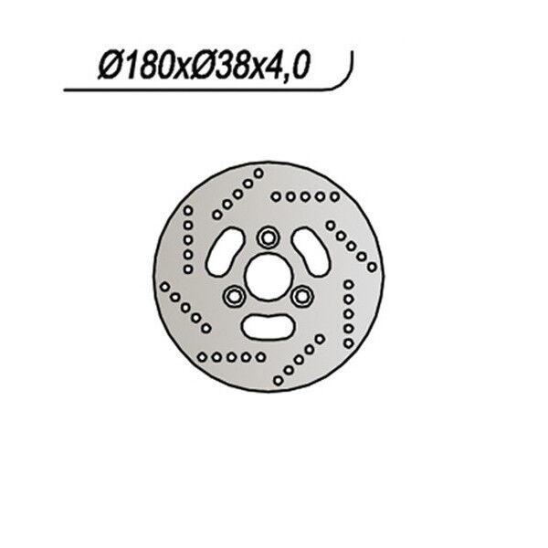 MS-5B1D279923 DISCO FRENO ANT. NG 280 95/00 AN 125 SUZUKI  SC 65.9280