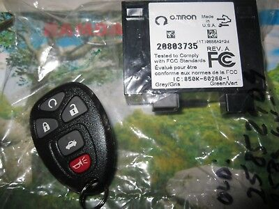 Keyless Entry Transmitter Module Receiver ECM ECU 25896497 For GM