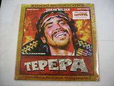 O.S.T. - TEPEPA - CLEAR ORANGE SEALED LP VINYL - ENNIO MORRICONE - BTF 2016