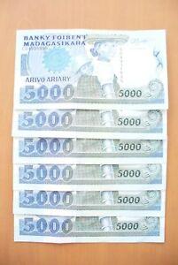 Billet Madagascar 5000 Frs - MÊme Liasse - Etat Sup/spl ! Achat UnitÉ Yzypewy2-08002753-582712954