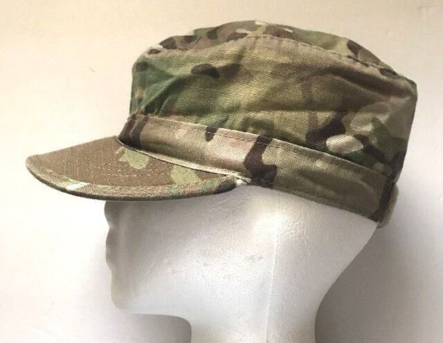 3f74465d564 New US Army Multicam OCP Patrol Cap Hat Size 7 3 8