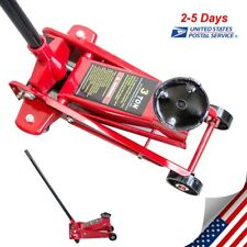 3 Ton Low Profile Aluminum Racing Car Auto Floor Jack 6000 Lbs Extra Wide