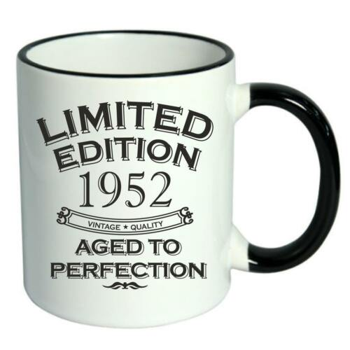 67th Birthday Novelty Cup Mug Coffee Tea Limited Edition 1952 Aged To Perfection