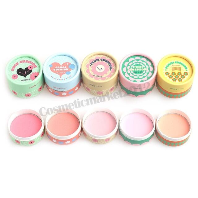 THE FACE SHOP Lovely ME:EX Pastel Cushion Blusher 5g Free gifts