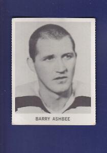 Barry-Ashbee-1965-66-Coca-Cola-Coke-Cards-Hockey-VGEX-Boston-Bruins