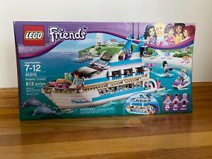 NEW LEGO Friends Dolphin Cruiser Yacht 41015 Factory Sealed Box Set NIB RETIRED