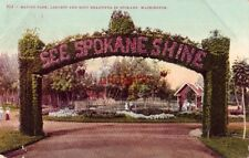 MANITO PARK, Largest and most beautiful in SPOKANE, WA. 1909
