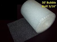 50 Foot Bubble Wrap® Roll 3/16 (small) Bubbles 12 Wide Perforated Every 12