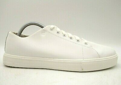 Crews SFC White Leather Casual Lace
