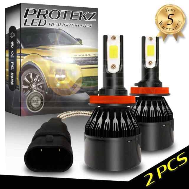 Protekz H4 9003 1400W LED Headlight Conversion Kit 6500K 210000LM Bulb HIgh Low