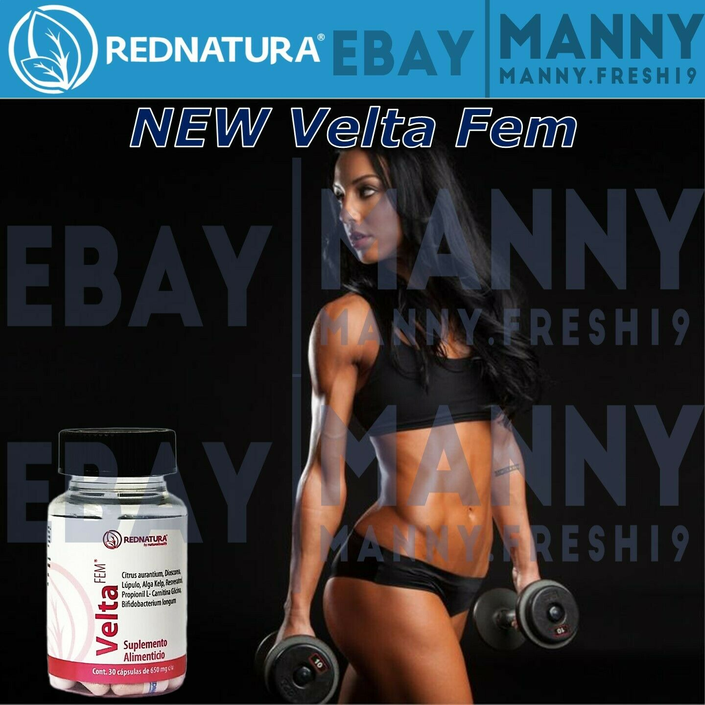 VELTA FEM (FOR WOMEN) BY RED NATURA! LOSE WEIGHT FAST!!! NEW VERSION OF BELIM!!!