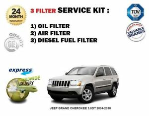 for jeep grand cherokee 3 0dt 2004 2010 service oil air fuel filters 2011 Jeep Patriot Fuel Filter image is loading for jeep grand cherokee 3 0dt 2004 2010