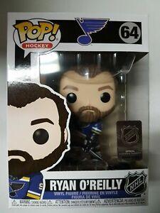 Funko-POP-NHL-Hockey-St-Louis-Blues-Ryan-O-039-Reilly-64