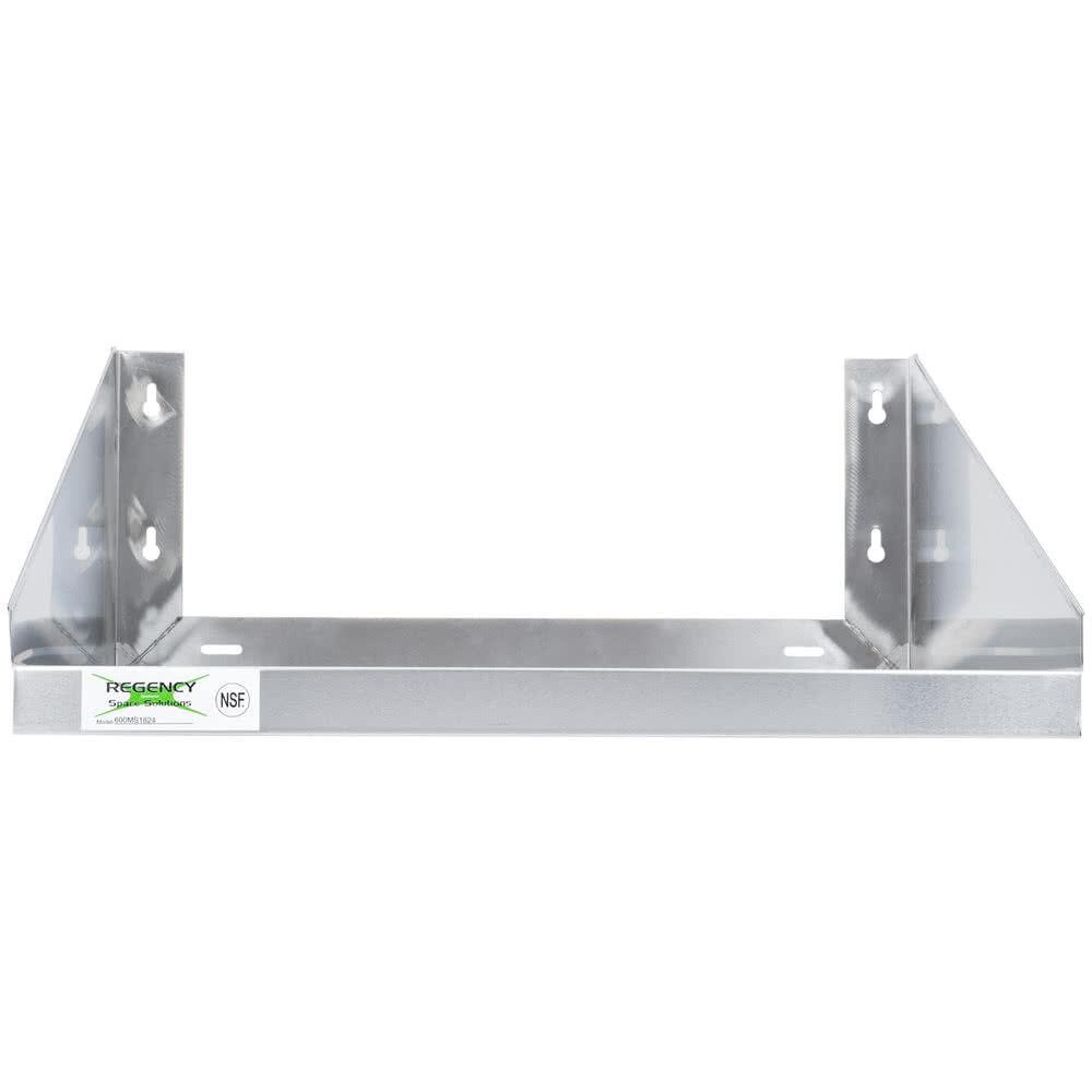 Regency 24  x 18  Microwave Stainless Steel Shelf