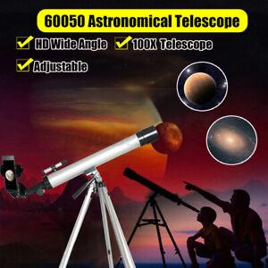 Fernrohr-Teleskop-Objektiv-Monokular-Feldstecher-100X-Linse-Stativ-Handy
