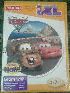 Disney-Pixar-Cars-2-iXL-Learning-System-Game-Cartridge-NEW
