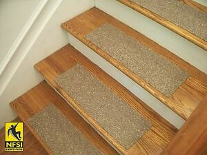 Image Is Loading NFSI High Traction Vinyl Stair Tread Sets Brown