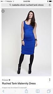 Isabella Oliver Maternity Ruched Tank Dress Ebay