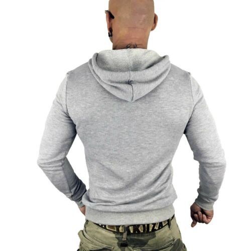 By Hoodie Light Yakuza hellgrau killed 10058 Fame Melange Grey Herren Hob CTxqxwzB5