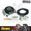 thumbnail 1 - Derale Atomic-Cool Remote Mount Engine Oil Cooler Kit w/ Fan - DP15450