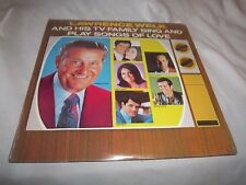 LAWERENCE WELK AND HIS TV FAMILY SING  AND PLAY SONGS OF LOVE SEALED 2LP