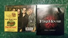 Full Circle;Firehouse,BEST;Signed CD - DVD LP;BACK STAGE PASS,Love of a Lifetime
