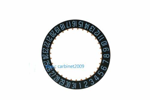 Generic H6 BLACK Date indicator date wheel 2557//1 for ETA  2804-2 2824-2