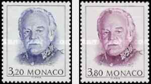 Timbres Personnages Rainier Monaco 1722/3 ** lot 1470 - France - EBay Timbres neufs en série complte - France