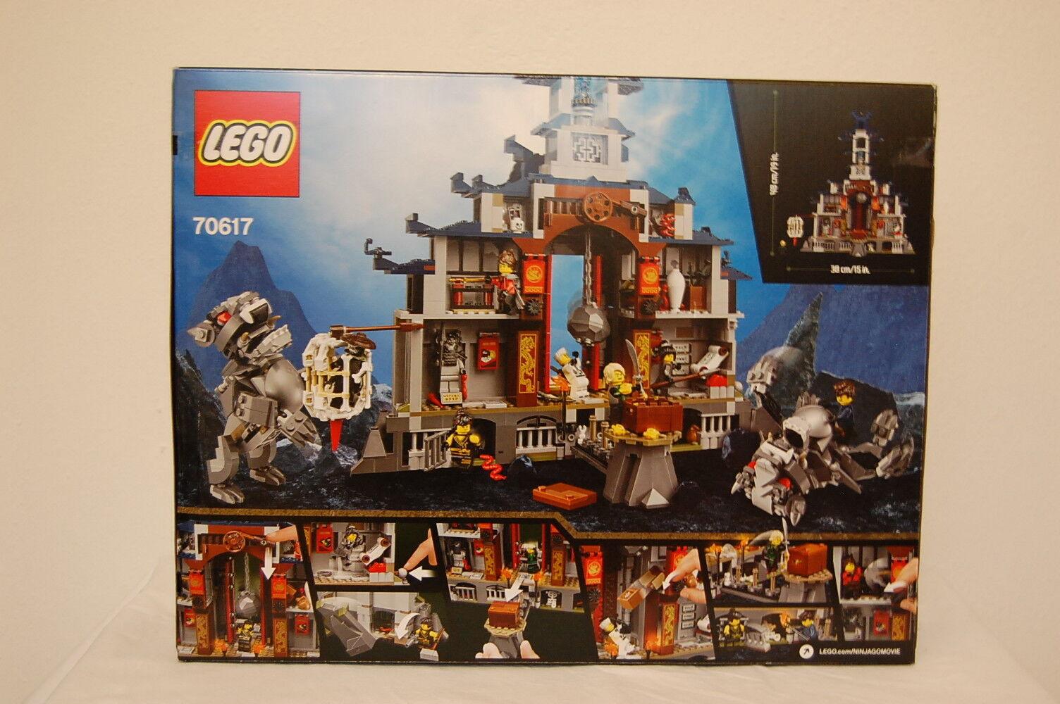 LEGO NINJAGO 70617 Ultimatives Tempel-Versteck Neu Neu Neu OVP 1cbed0